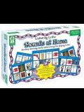 Listening Lotto: Sounds at Home [With 120 Game Tokens and 12 Game Boards and CD (Audio)]