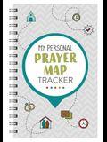 My Personal Prayer Map Tracker - Slate
