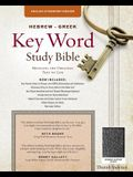 The Hebrew-Greek Key Word Study Bible: ESV Edition, Black Bonded Leather Indexed