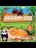 Origami Zoo Kit: Make a Complete Zoo of Origami Animals!: Kit with Origami Book, 15 Projects, 40 Origami Papers, 95 Stickers & Fold-Out
