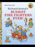 Richard Scarry's Busiest Firefighters Ever (Little Golden Books)