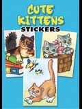Cute Kittens Stickers: 36  Stickers, 9 Different Designs (Dover Little Activity Books Stickers)