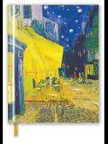 Van Gogh: Café Terrace (Blank Sketch Book)