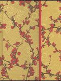 Japonica Magnetic Foldover Journal: Blown Cherry Blossoms
