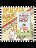Mary Engelbreit 2020 Mini Wall Calendar: Animals Are Such Agreeable Friends