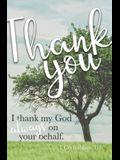 For the Grace of God Bulletin (Pkg 100) Pastor Appreciation