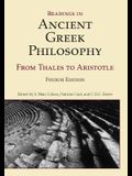 Readings in Ancient Greek Philosophy: From Thales to Aristotle, 4th Edition