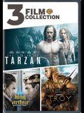 3 Film Collection: Legend of Tarzan / King Arthur / Troy