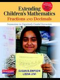 Extending Children's Mathematics: Fractions and Decimals: Innovations in Cognitively Guided Instruction
