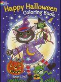 Happy Halloween Coloring Book