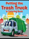 Putting the Trash Truck in Coloring Book