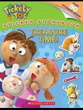 Tickety Toc: Treasure Time - Sticker Storybook