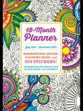 2022 Coloring Planner