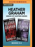 Heather Graham Krewe of Hunters Series: Books 3-4: Sacred Evil & the Evil Inside