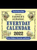 The 2022 Old Farmer's Almanac Everyday Calendar