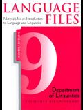 Language Files: Materials for an Introduction to Language & Linguistics