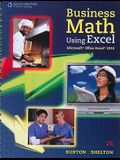 Business Math Using Excel [With CDROM]