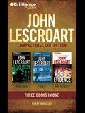 John Lescroart CD Collection 3: Dead Irish, the Vig, Hard Evidence