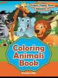 Coloring Animals Book - Color Them Now Edition 2