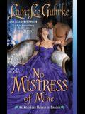 No Mistress of Mine