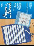 Poem Of The Week Book 4: Phonograms, Blends, Digraphs, Diphthongs, And More