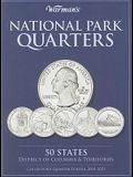 National Park Quarters Collector's Quarter Folder 2010-2021: 50 States, District of Columbia & Territories
