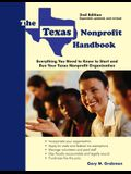 The Texas Nonprofit Handbook: Everything You Need to Know to Start and Run Your Texas Nonprofit Organization