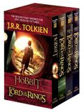 J.R.R. Tolkien 4-Book Boxed Set: The Hobbit and the Lord of the Rings: The Hobbit, the Fellowship of the Ring, the Two Towers, the Return of the King