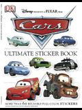 Ultimate Sticker Book: Cars: More Than 60 Reusable Full-Color Stickers [With More Than 60 Reusable Stickers]