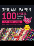 Origami Paper 100 Sheets Cat Patterns 6 (15 CM): Tuttle Origami Paper: High-Quality Double-Sided Origami Sheets Printed with 12 Different Patterns: I
