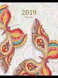 2019 Planner: Daily Weekly Monthly Planner Calendar, Journal Planner and Notebook, Agenda Schedule Organizer, Academic Student Plann