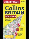 2012 Collins Britain Road Map