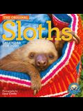 Original Sloths Wall Calendar 2020