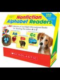 Nonfiction Alphabet Readers: A Big Collection of Just-Right Informational Books for Teaching the Letters A to Z
