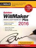 Quicken Willmaker Plus 2016 Edition: Book & Software Kit [With Quicken Willmaker]