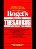 The New American Roget's College Thesaurus in Dictionary Form