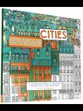 Fantastic Cities: A Coloring Book of Amazing Places Real and Imagined (Adult Coloring Books, City Coloring Books, Coloring Books for Adu