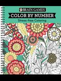 Brain Games - Color by Number: Stress-Free Coloring (Green)
