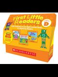 First Little Readers: Guided Reading Level D (Classroom Set): A Big Collection of Just-Right Leveled Books for Beginning Readers [With 5 Copies of 20