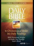 Daily Bible-NIV-Large Print