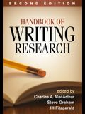 Handbook of Writing Research