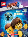 Vest Friends (the Lego Movie 2: Activity Book with Minifigure) [With Minifigure]