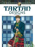 Tartan Designs Coloring Book