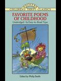 Favorite Poems of Childhood (Dover Children's Thrift Classics)