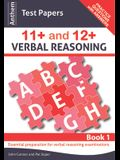 Anthem Test Papers 11+ and 12+ Verbal Reasoning Book 1