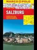 Salzburg Marco Polo Laminated City Map