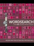 Wordsearch: Over 200 Testing Word Puzzles [With Pencil]