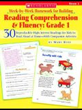 Week-By-Week Homework for Building Reading Comprehension & Fluency: Grade 1: 30 Reproducible High-Interest Readings for Kids to Read Aloud at Home--Wi