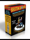 Brixton Brothers Mysterious Case of Cases: The Case of the Case of Mistaken Identity; The Ghostwriter Secret; It Happened on a Train; Danger Goes Bers