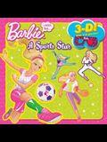 I Can Be a Sports Star (Barbie) (3-D Pictureback)